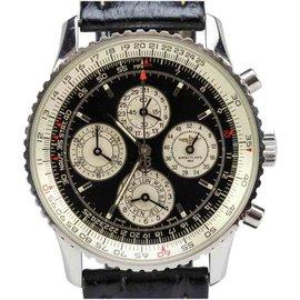 Breitling Navitimer 1461 52 Weeks Perpetual Calendar Chronograph Watch A38022 41.5mm