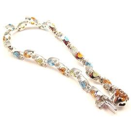 Pasquale Bruni 18K White Gold GHIRLANDA Diamond Bracelet