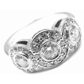 Tiffany & Co. Platinum Circlet Diamond Band Ring