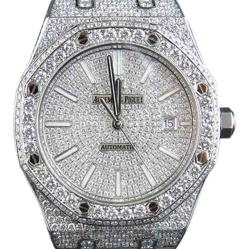 "Image of ""Audemars Piguet Royal Oak 15400St.oo.1220St.02 Stainless Steel 18.5 Ct"""