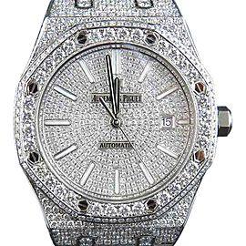 Audemars Piguet Royal Oak 15400ST.OO.1220ST.02 Stainless Steel 18.5 Ct Diamond 41.9mm Watch