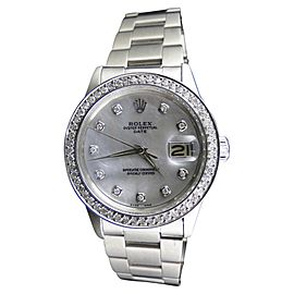 Rolex Datejust Stainless Steel with 2.15ct. Diamond Automatic 36mm Mens Watch