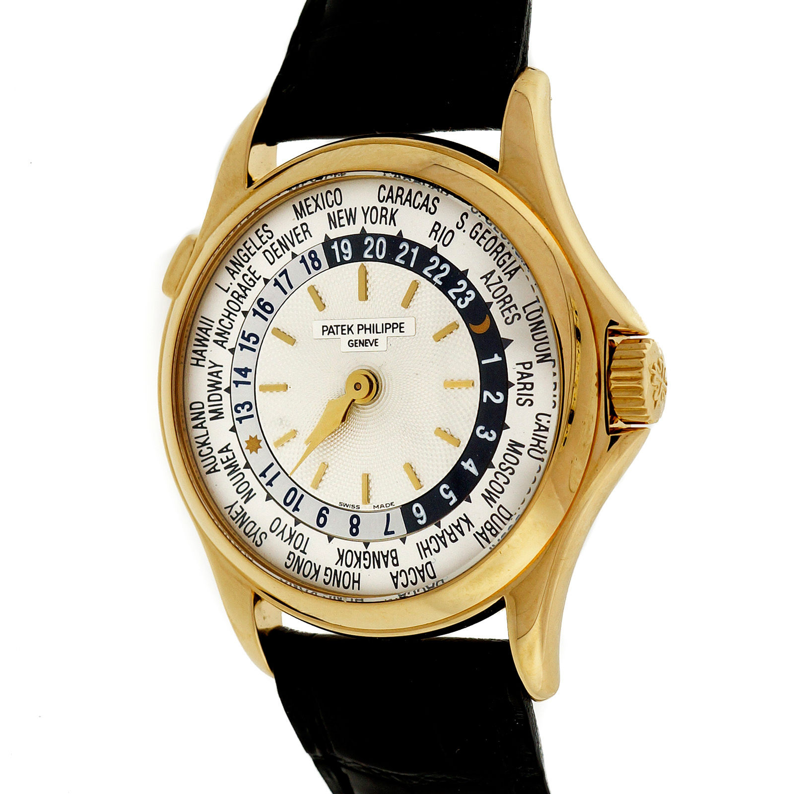 Patek Philippe 5110J 18K Yellow Gold / Leather 36mm Unisex Watch