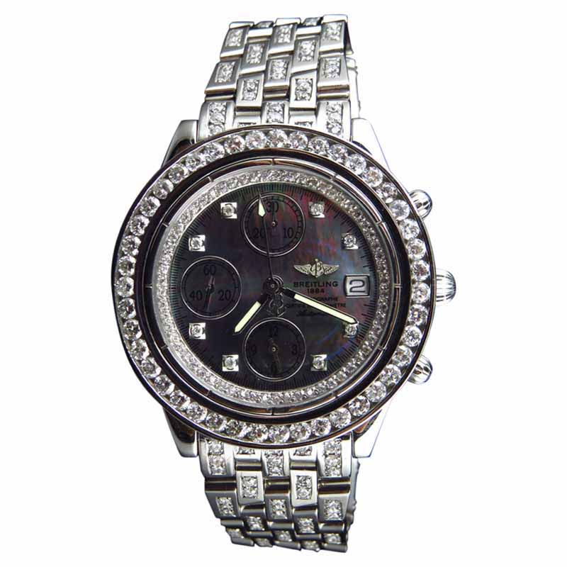 """Image of """"Breitling Aeromarine A13352 Stainless Steel 41mm Mens Watch"""""""