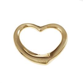Tiffany & Co. Elsa Peretti 18K Yellow Gold Open Heart Pendant
