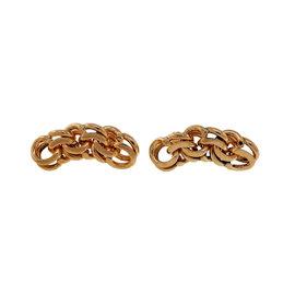 Tiffany & Co. 14K Yellow Gold Charm Bracelet Double Spiral Link Earrings