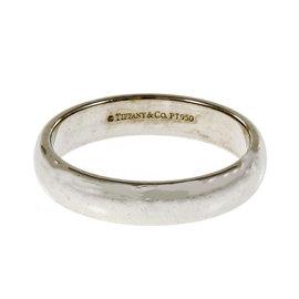 Tiffany & Co. Lucida 950 Platinum Wedding Band Ring Size 9.5