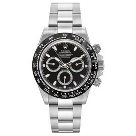 Rolex Cosmograph Daytona 116500LN BK Stainless Steel & Black Dial 40mm Mens Watch