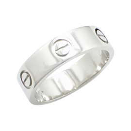Cartier Love 950 Platinum Ring Size 7.5