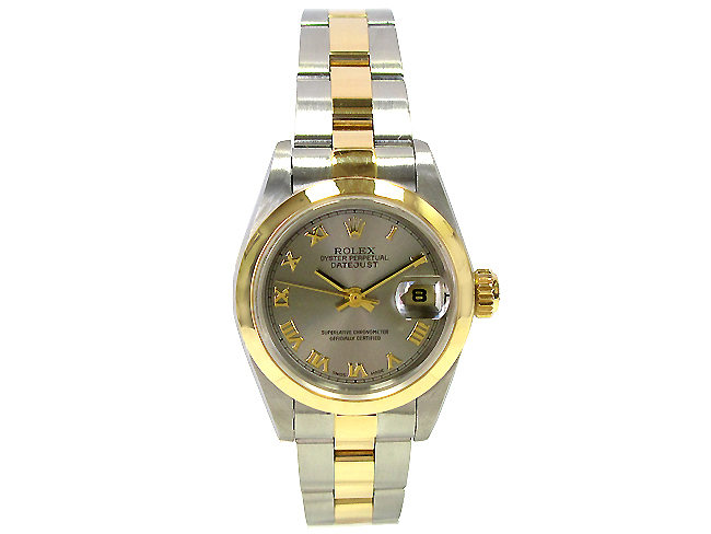 "Image of ""Rolex Datejust 79163 18K Yellow Gold & Stainless Steel 26mm Watch"""