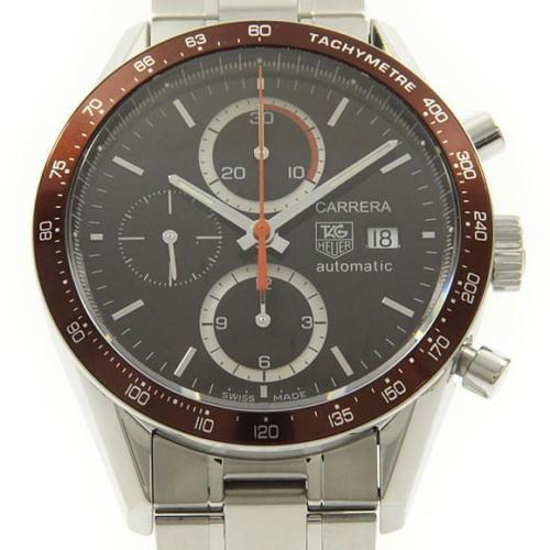 "Image of ""Tag Heuer Cv2013 Carrera Tachymeter Chrono Stainless Steel 41.5 mm"""