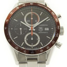 Tag Heuer CV2013 Carrera Tachymeter Chrono Stainless Steel 41.5 mm Men's Watch