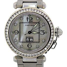 Cartier Pasha Diamond Bezel Watch