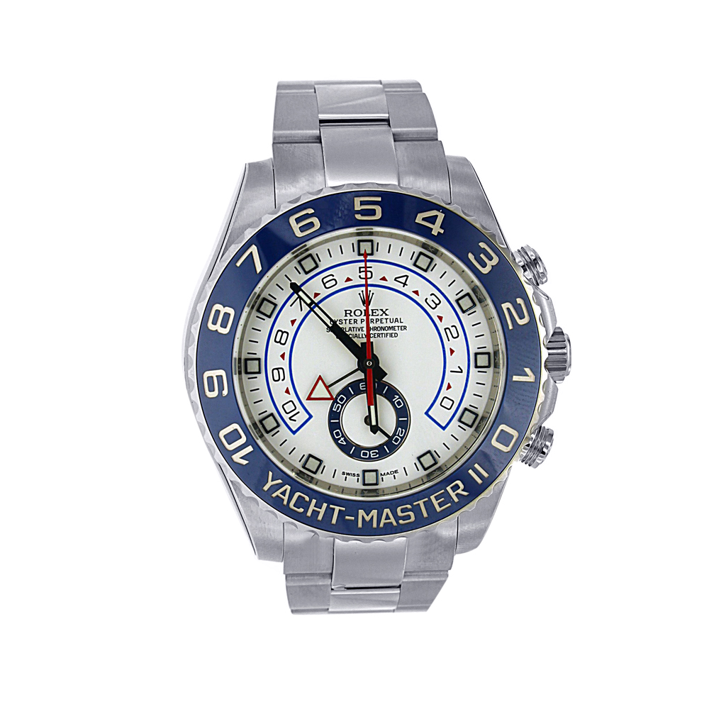"""Image of """"Stainless Steel Rolex Yacht-Master II Model 116680"""""""