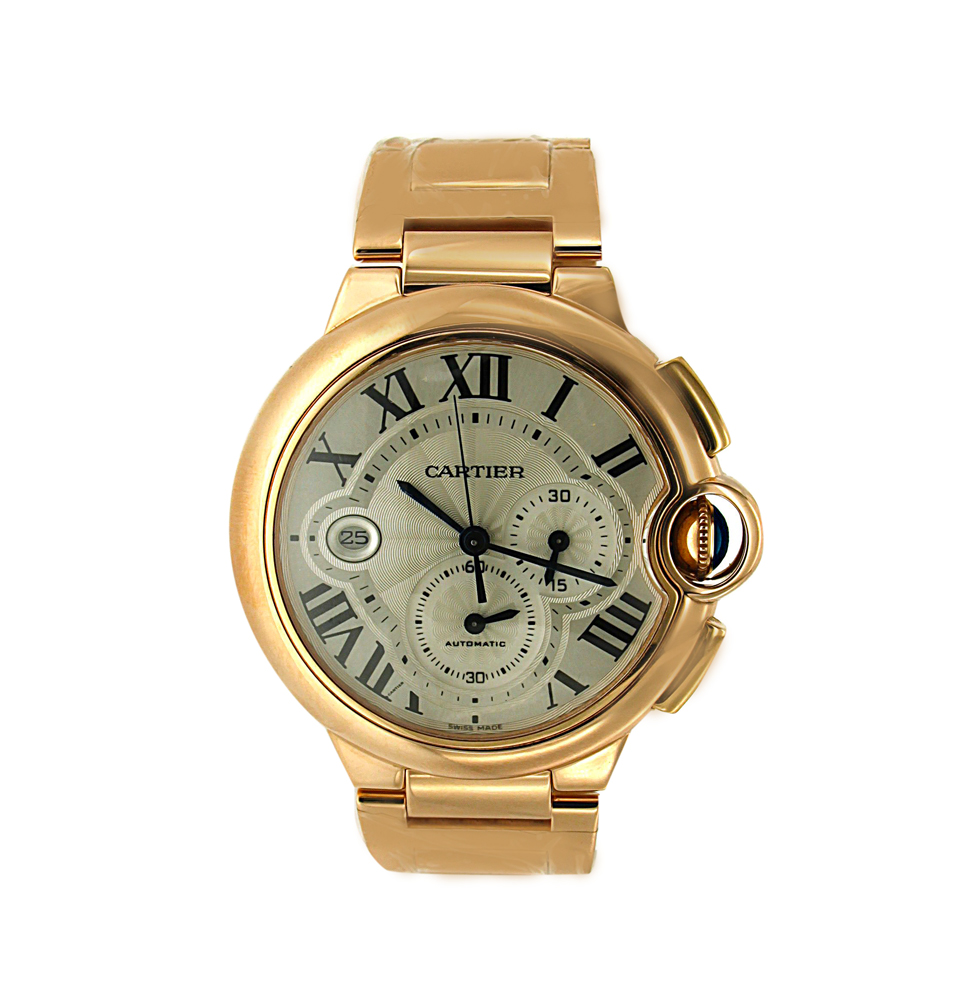 18K Yellow Gold Extra Large Cartier Ballon Bleu