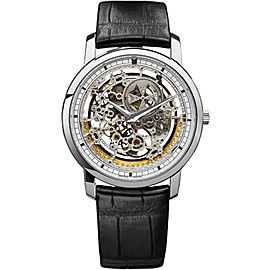Vacheron Constantin Traditionnelle 43178000G-9393 18K White Gold with Skeleton Dial 38mm Mens Watch