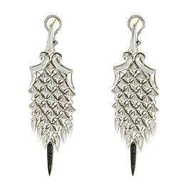 Stephen Webster 925 Sterling Silver & 14K Gold Sapphires Superstud Earrings