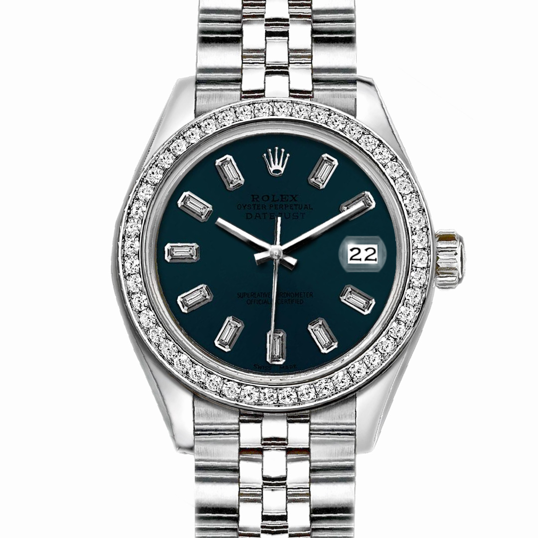 """Image of """"Rolex Datejust Stainless Steel with Dark Blue Dial 36mm Mens"""""""