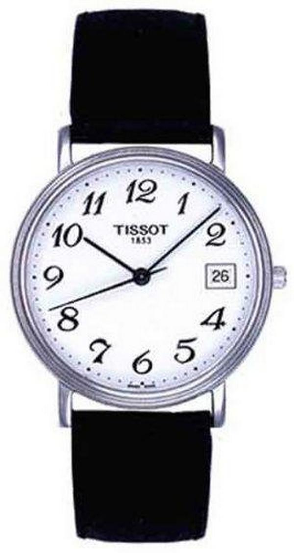 "Image of ""Tissot T52.1.421.12 Stainless Steel 34mm Mens Watch"""