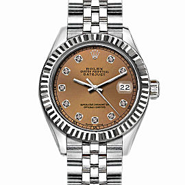 Rolex Datejust Stainless Steel with Brown Dial 36mm Men Watch