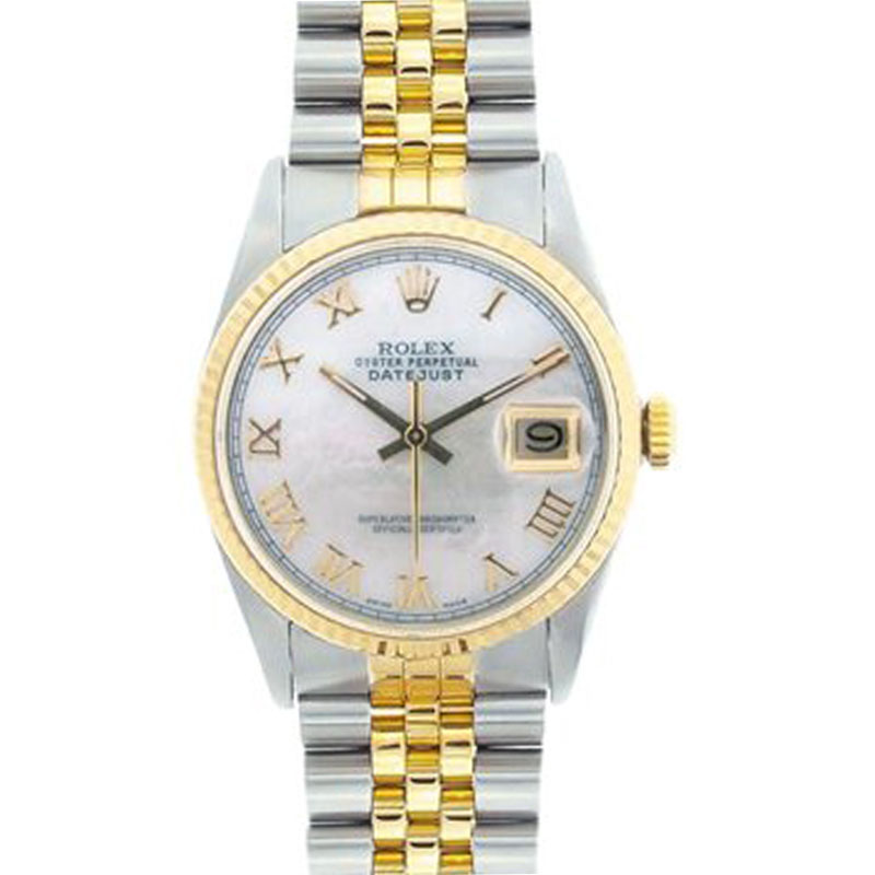 """Image of """"Rolex Datejust Two-Tone 18K Yellow Gold & Stainless Steel 36mm Watch"""""""