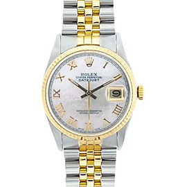 Rolex Datejust Two-Tone 18K Yellow Gold & Stainless Steel 36mm Watch