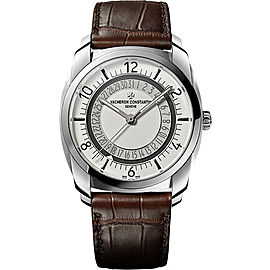 Vacheron Constantin Quai De l'Ile 4500S/000A-B195 Stainless Steel with Silver Dial Automatic 41mm Mens Watch