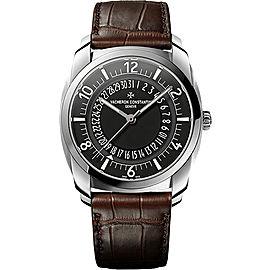Vacheron Constantin Quai De l'Ile 4500S/000A-B196 Stainless Steel with Black Dial Automatic 41mm Mens Watch