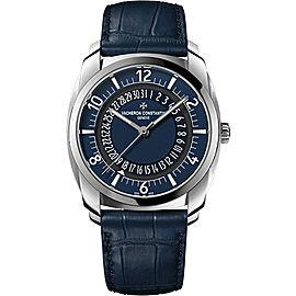 Vacheron Constantin Quai de I Ile 4500S/000A-B364 Stainless Steel with Blue Dial Automatic 41mm Mens Watch