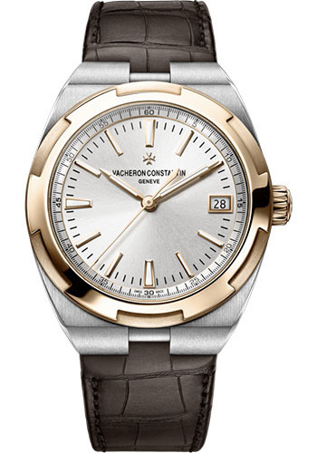 "Image of ""Vacheron Constantin Overseas 4500V/000M-B127 Stainless Steel & Leather"""