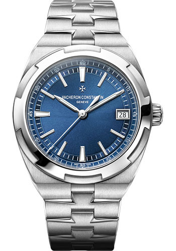 "Image of ""Vacheron Constantin Overseas Stainless Steel with Blue Dial Automatic"""