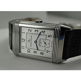Jaeger LeCoultre Grande Taille Reverso Stainless Steel 42mm Mens Watch