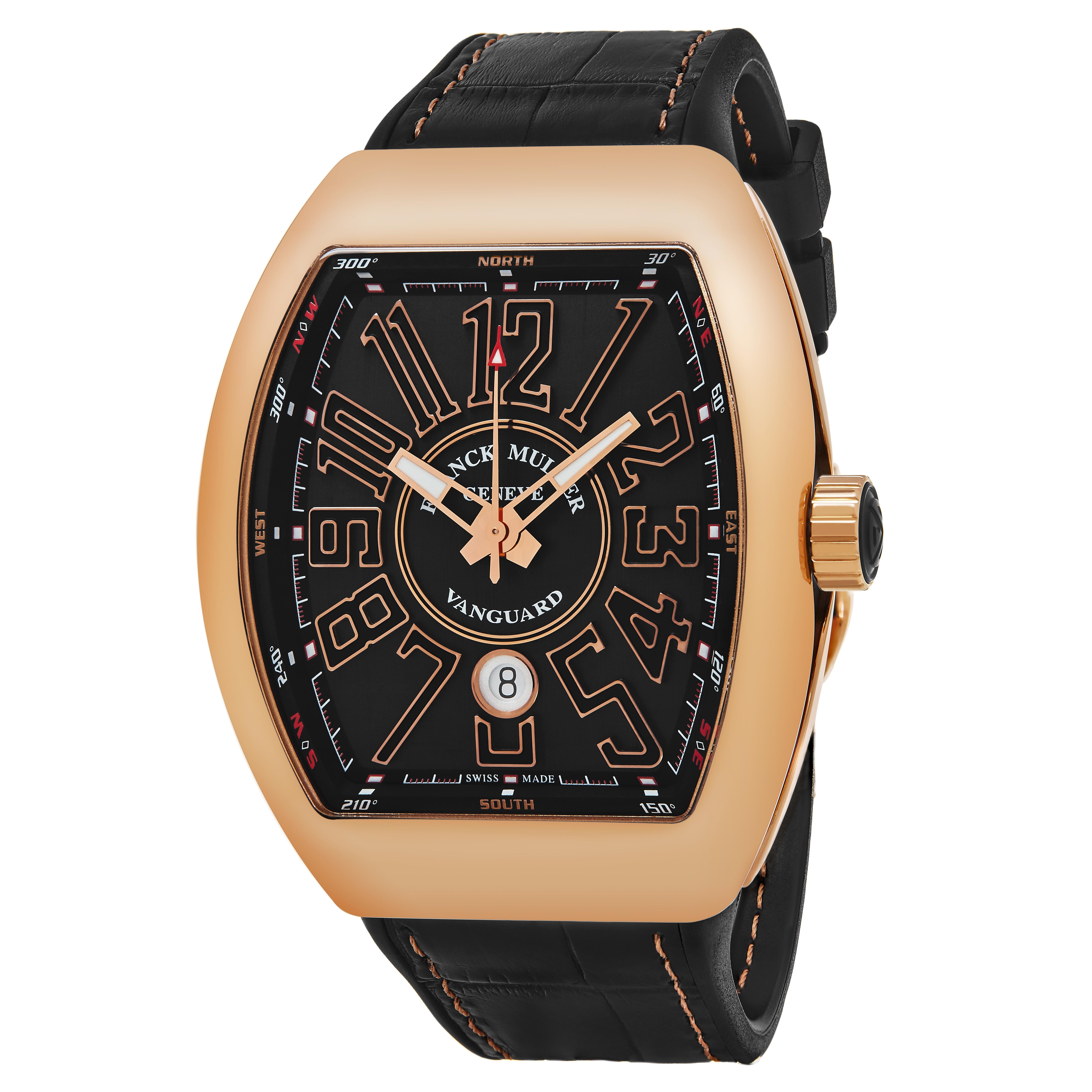 """""Franck Muller Vanguard 45Scgldbrngld Watch"""""" 858370"