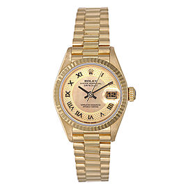Rolex President 79178 18K Yellow Gold Mother of Pearl Dial 26mm Womens Watch