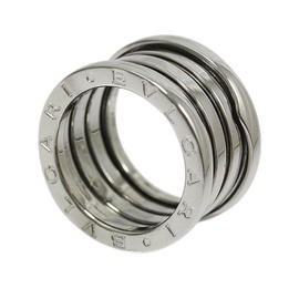 Bulgari B.zero1 18K White Gold Ring Size 4.75