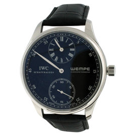 IWC Portuguese Regulator Wempe IW544302 Platinum 43mm Watch