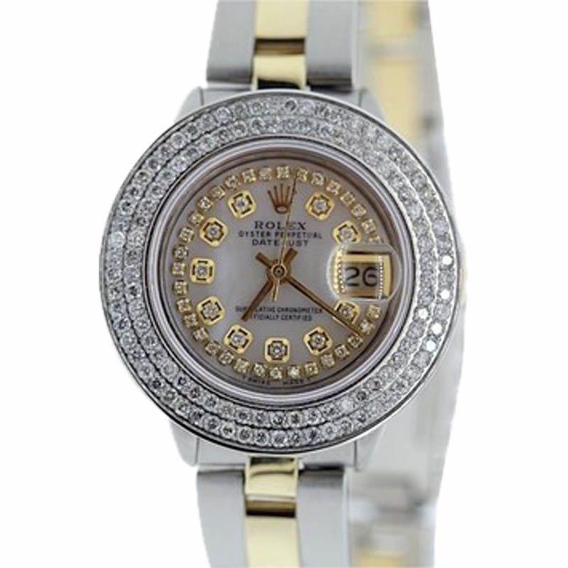 """Image of """"Rolex Datejust Stainless Steel & Yellow Gold Watch 26mm"""""""