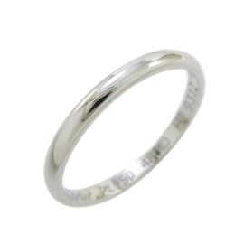 Cartier Platinum Band Ring Size 4.5