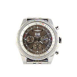 Breitling Bentley A44362 Stainless Steel & Bronze Dial 49mm Mens Watch