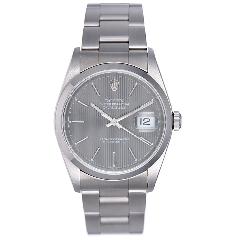 """Image of """"Rolex Datejust 16200 Stainless Steel 36mm Mens Watch"""""""