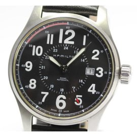 Hamilton Khaki Stainless Steel Automatic 45mm Mens Watch