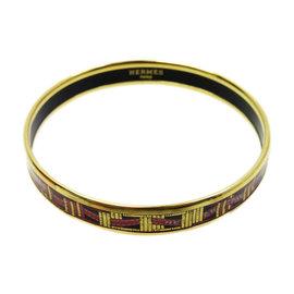 Hermes Cloisonne Bangle Bracelet