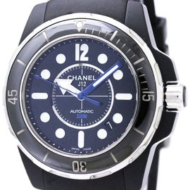 Chanel J12 H2558 Ceramic & Rubber Automatic 42mm Mens Watch