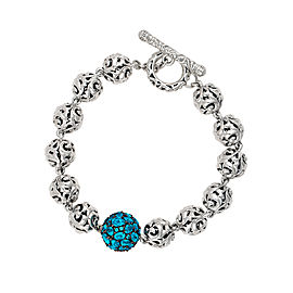 Mosiaic Blue Topaz Bracelet