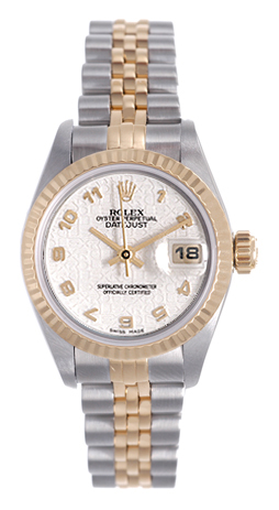 "Image of ""Rolex Datejust 69173 Stainless Steel / 18K Yellow Gold Ivory Jubilee"""