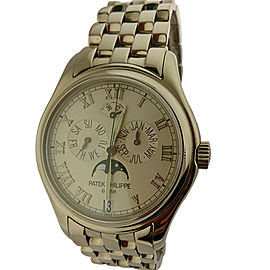 Patek Philippe 5036/1G Annual Calendar 18k Gold Watch