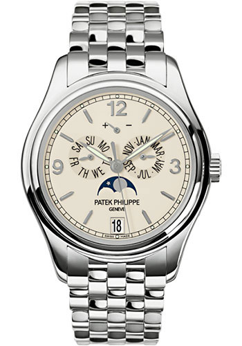 "Image of ""Patek Philippe 18K White Gold 39mm Mens Watch"""