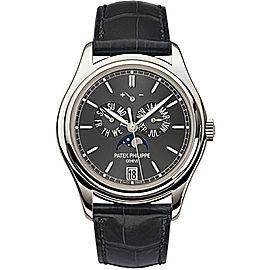 Patek Philippe Complications Moonphase 5146P-001 Platinum Automatic Mens 39mm Watch