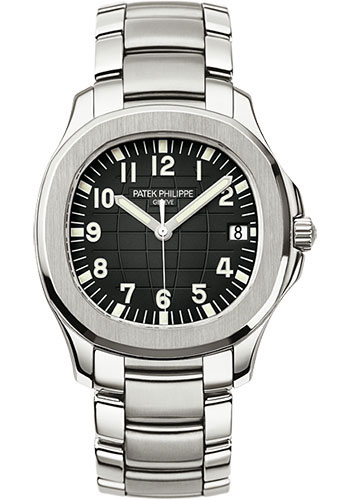 "Image of ""Patek Philippe Aquanaut 5167/1A Stainless Steel with Black Dial"""