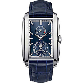 Patek Philippe 5200G-001 18K White Gold with Blue Dial 32.4mm Mens Watch
